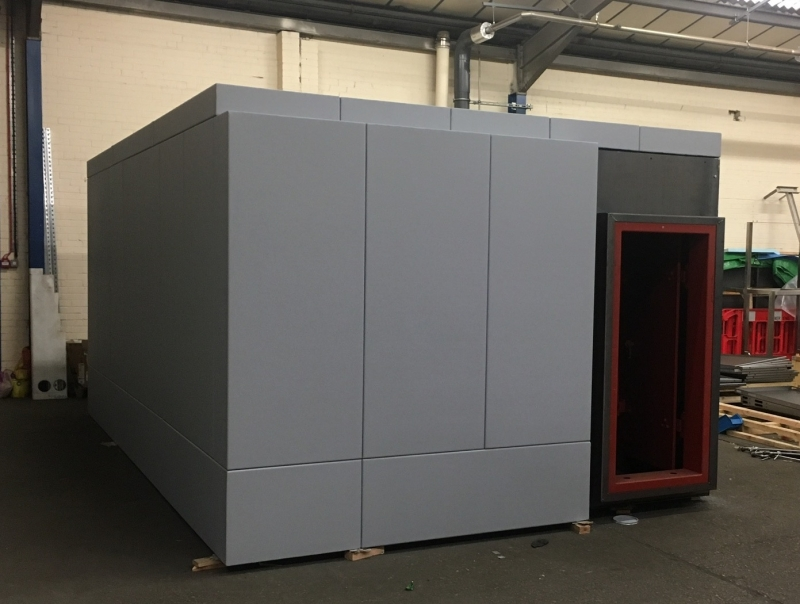 The Panic Room Company latest nuclear shelter shaping up