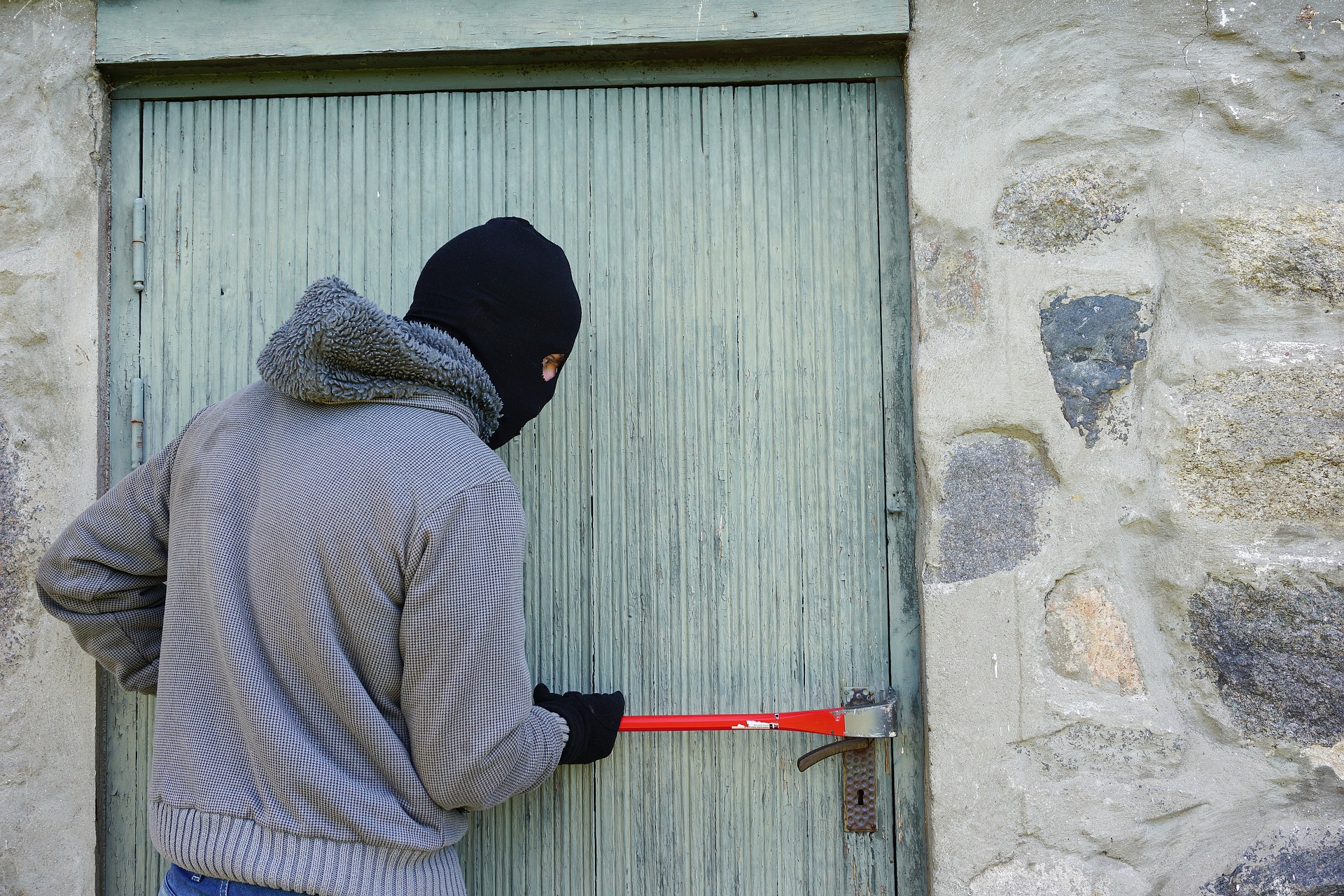 Don't be complacent when it comes to home security