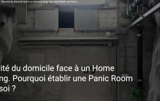 Panic rooms in France with The Panic Room Company