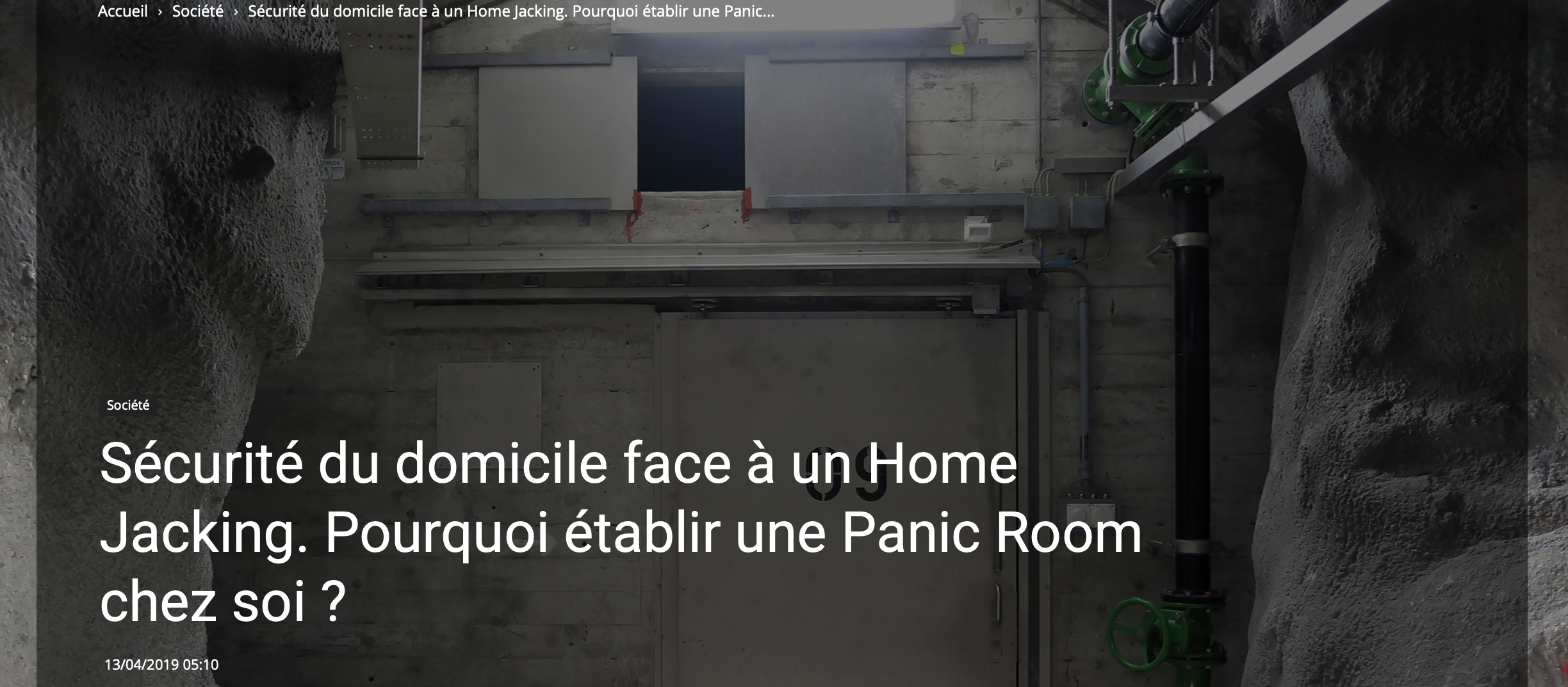 Why add a Panic Room to your home?